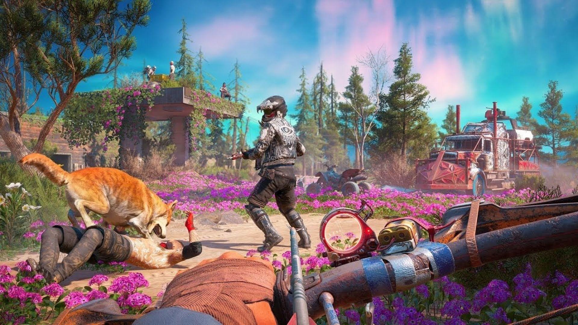 انتشار ویدیو جدیدی از گیم پلی بازی Far Cry: New Dawn