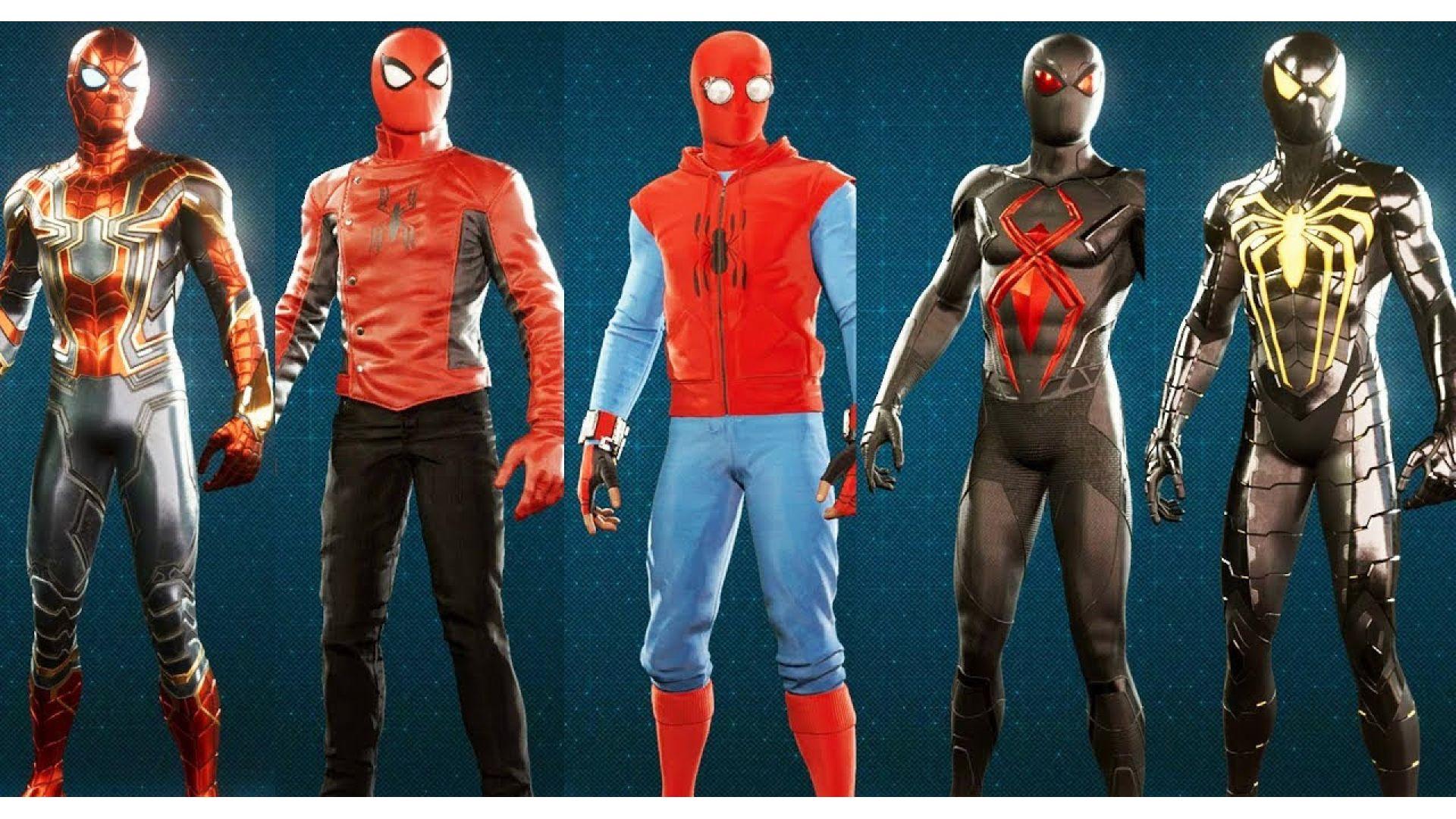 راهنمای آزاد کردن تمام لباس های بازی Spider-Man