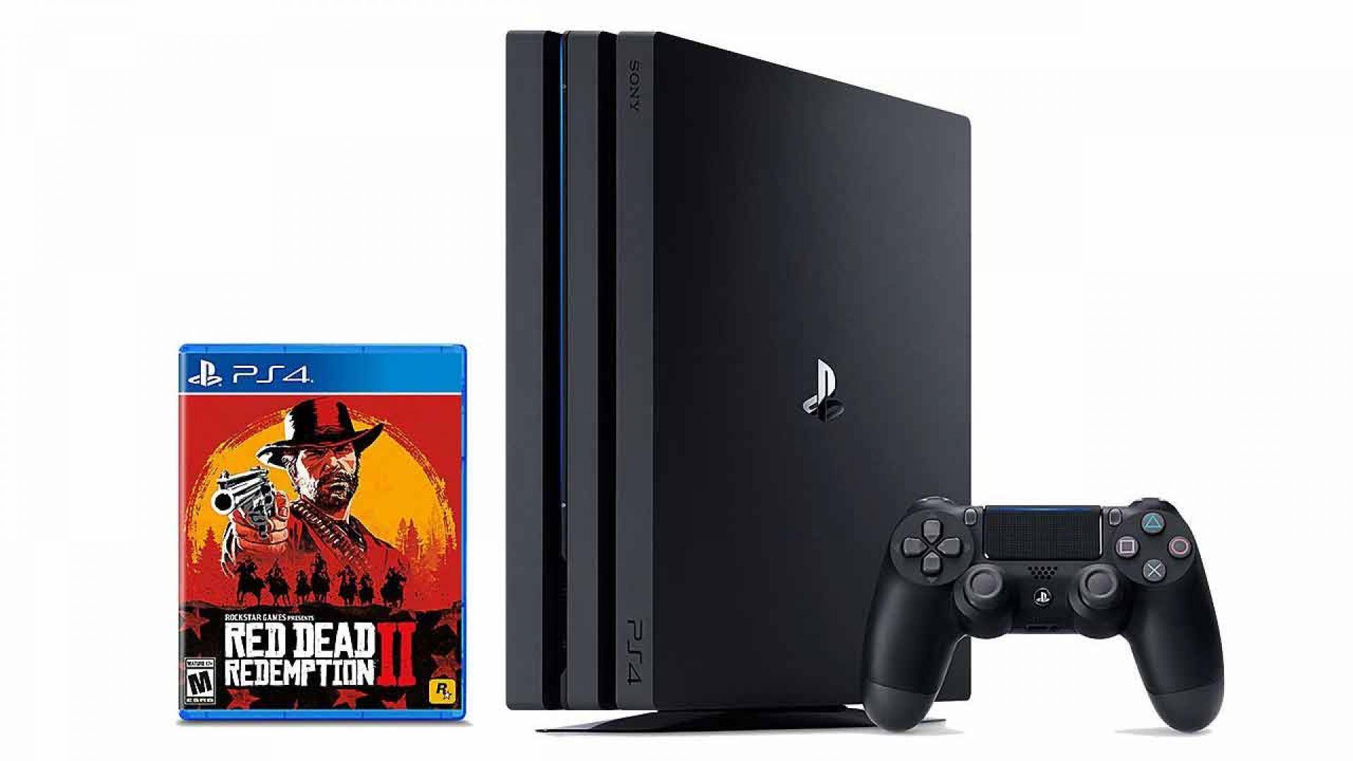 از باندل پلی استیشن 4 پرو بازی Red Dead Redemption 2 رونمایی شد